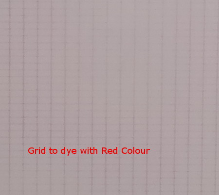 Grid to Dye Red