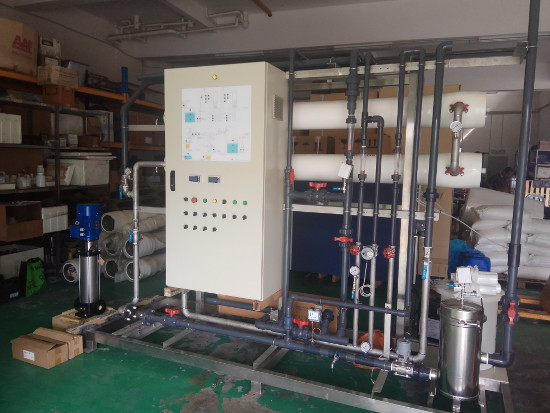 Wastewater Treatment Control Panel